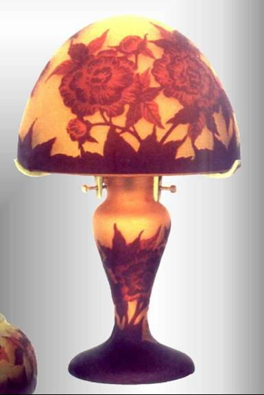 Galle type lamp