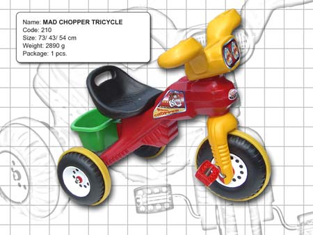 MAD CHOPPER TRICYCLE